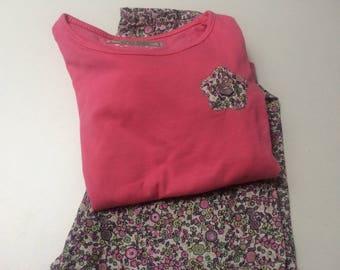 Pajama pants girl liberty cotton