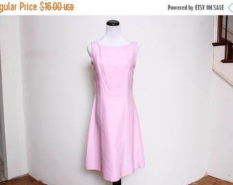 25% OFF VTG 60s Pink Mod Bow Lolita Dress M