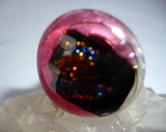 Glass ring * Handmade single piece