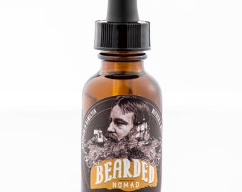 Bearded Nomad's Grapefruit, Birch and Cinnamon Beard and Moustache Oil