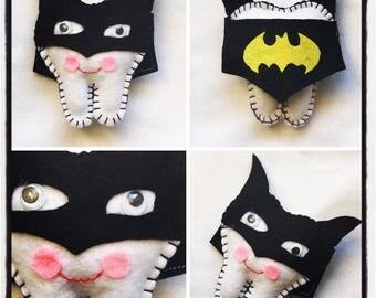 Batman pillow etsy for Batman fairy door