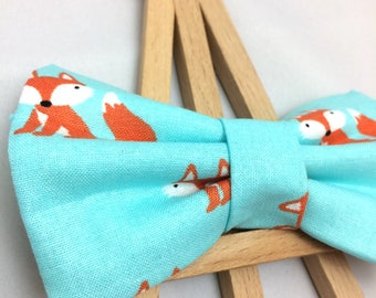 Fox Bow Tie | Bow Tie for Dogs | Dog Bow Tie | Blue Bow Tie