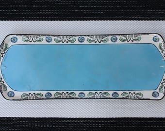 "Art Deco/Art Nouveau ""Crownford"" F & Sons Burslem England Transferware Platter / Tray"