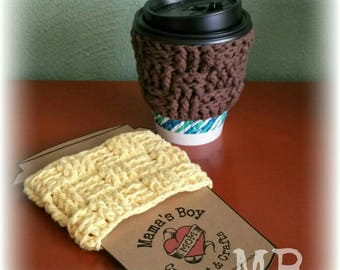 Basket Weave Style Cup Cuffs