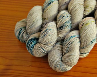 Stranger Things, Hand Dyed Yarn, SW Sock