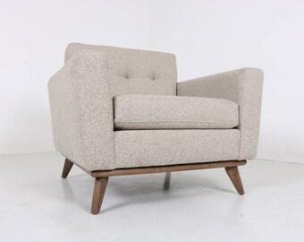 Mid Century Modern Danish Arm Lounge Chair