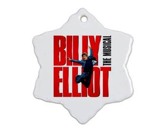 Billy Elliot Musical Christmas Ornament
