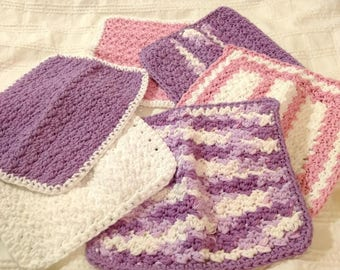 BABY WASHCLOTHS - Assorted - Ready to Ship
