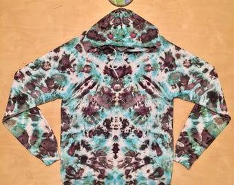Medium Kaleidoscopic Apparel tie dye hoodie