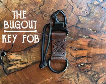 THE BUGOUT - Leather key fob