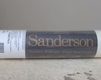 Sanderson Wallpaper - Cream Floral | Fleurette | Made in England