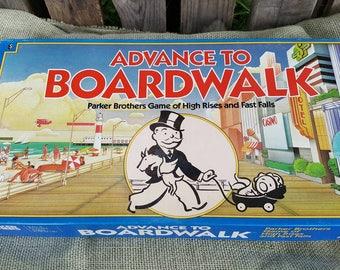 Advance to Boardwalk Vintage Board Game