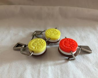 Vintage Set of Three TRAVCO Bottle Tops