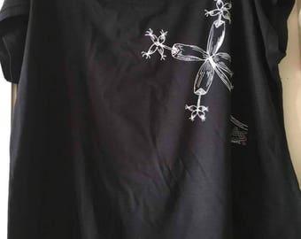 """Art shirt """"BLOOMS"""""""