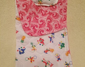 """NEW 14.5 inch ! Dixie's Clowns Galore Sleeping Bag  to fit 14.5"""" Doll including those from the American Girl Doll  Co"""