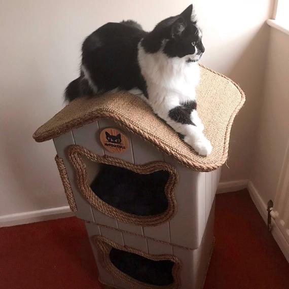 Cat Condo Cat Tower Cat Bed Cat tree Cat cottage Cat house Cat cave