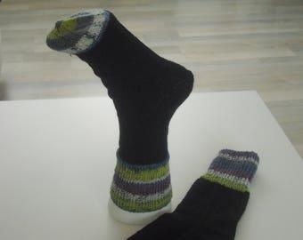 Socks Gr. 38-Knitted socks-wool socks-women socks-Men socks-Unisex girls socks-boys socks-socks-casual socks