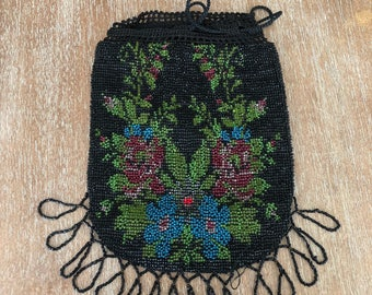 Antiqu Beaded Purse
