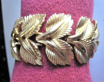 Coro Gold Tone Bracelet