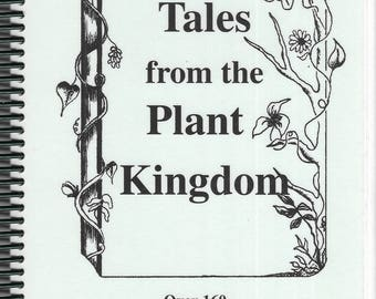 Tales from the Plant Kingdom 1995 Spiral Bound Paperback Signed