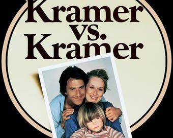 70's Meryl Streep Classic Kramer vs. Kramer Poster Art custom tee Any Size Any Color