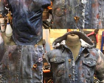 Post apocalyptic wasteland jacket