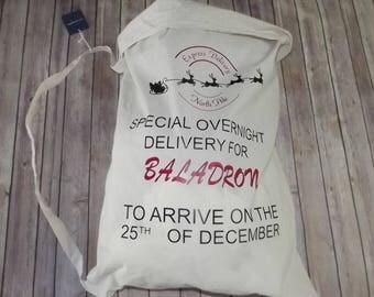 Personalized Santa Sack Extra Large Christmas Gift Bag