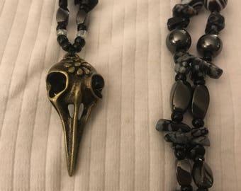 Sugar Raven Skull ||