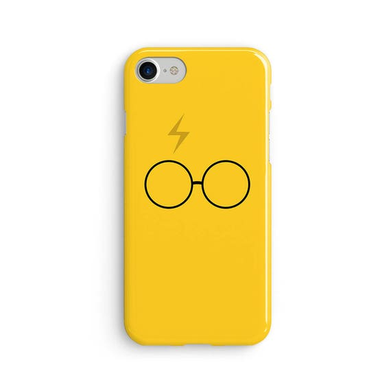 Harry P inspired yellow scar and glasses iPhone X case - iPhone 8 case - Samsung Galaxy S8 case - iPhone 7 case - Tough case 1P037