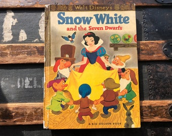 Snow White - Big Golden Book 1952 version