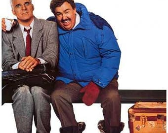 Planes Trains and Automobiles Steve Martin John Candy Movie Rare Vintage Poster