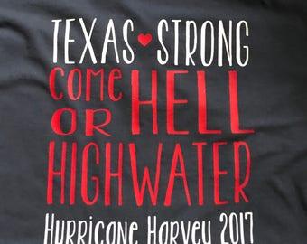 Texas Strong, Prayers for Texas, hurricane harvey, womens and kids tshirt, Unisex tshirt, Support Texas