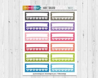 Habit Tracker Planner Stickers | 18032-01
