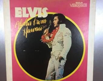 Elvis: Aloha from Hawaii Video Disc