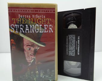 The Night Strangler VHS tape
