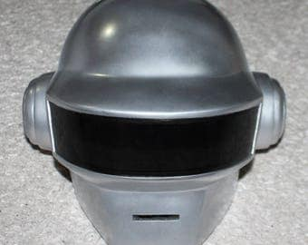 1:1 Scale Halloween Costume Prop, DJ Thomas Daft Punk Helmet Mask, Daft Punk Cosplay, Home decor decoration MA181