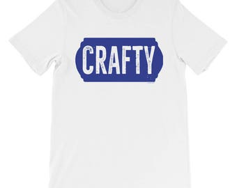 Crafty Unisex short sleeve t-shirt