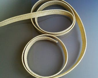 Laminated piping in gold color 10 mm