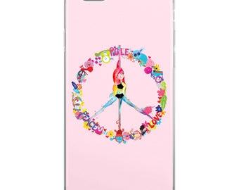 Pole Dance Phone Case | Peace, Pole, Love
