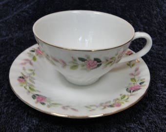 Creative Regency Rose Tea Cup Saucer Set 2345 EXCELLENT!