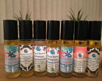 Fragrance oils we can create your own scent