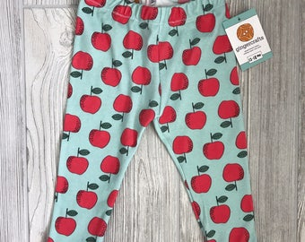 Organic Cotton Apple [baby] Leggings
