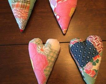 Quilted Heart Posing Pillow/Posing Pillow/Heart Posing Stuffie