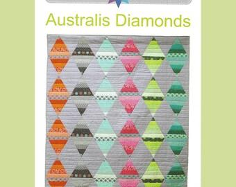 Australis Diamonds - Quilt Pattern - by Australian Designer Emma Jean Jansen