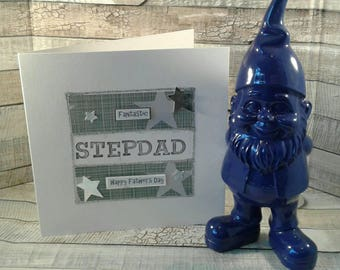 FATHER'S DAY CARD / stepdad  / step dad / father's day / Greetings card / personalised