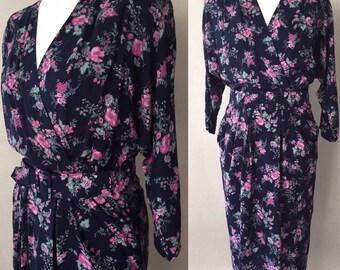 Vintage Floral 80's Dorothy Perkins Dress
