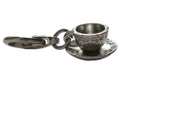 Coffee cup pendant charms bracelet pendant 3d Pendant
