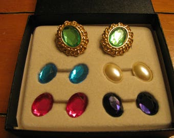 Kenneth J. Lane Magnetic Earrings