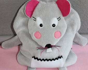 """Range pajamas, blanket, pacifier, etc. Adorable """"Miss mouse"""". """"Made to order""""."""