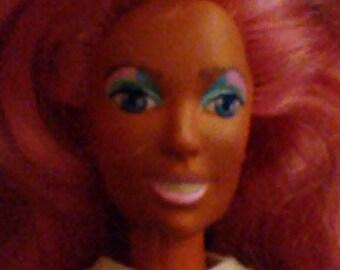 "Vintage 1980s Hasbro JEM and the Holograms ""RAYA"" Doll!!!"